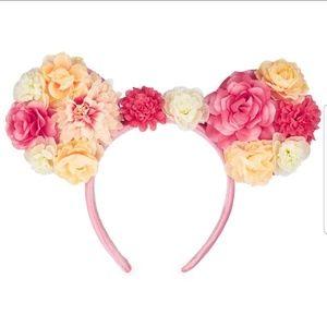 NWT! Beautiful Flower Mickey Ears🌺🌺🌺